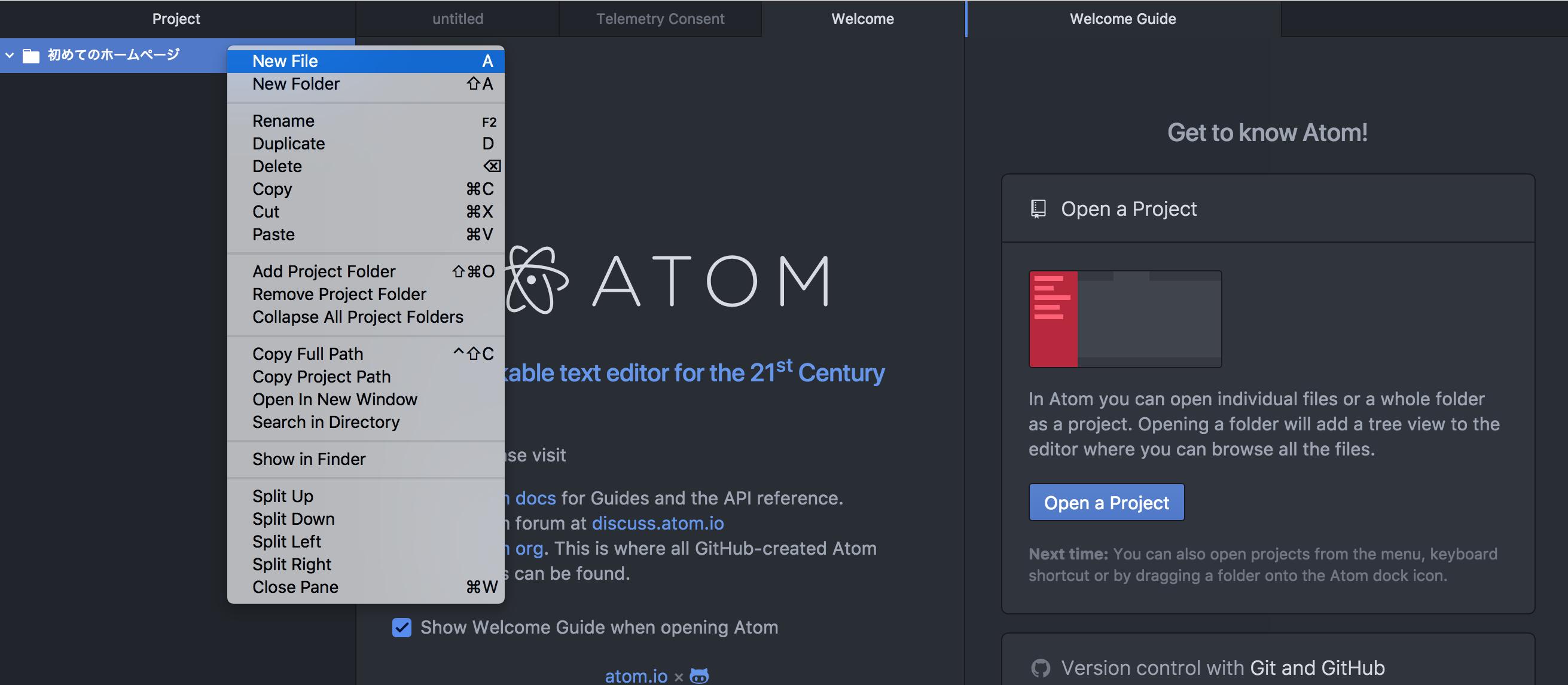 atom index
